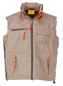 GILET HOT STUFF BEIGE