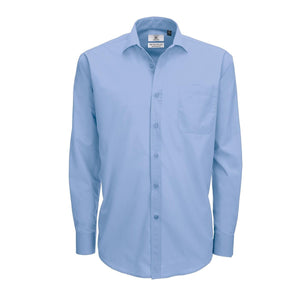 Camicia in tessuto morbido B&C COLLECTION