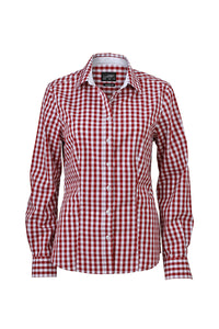 Camicia fashion a quadri JAMES&NICHOLSON