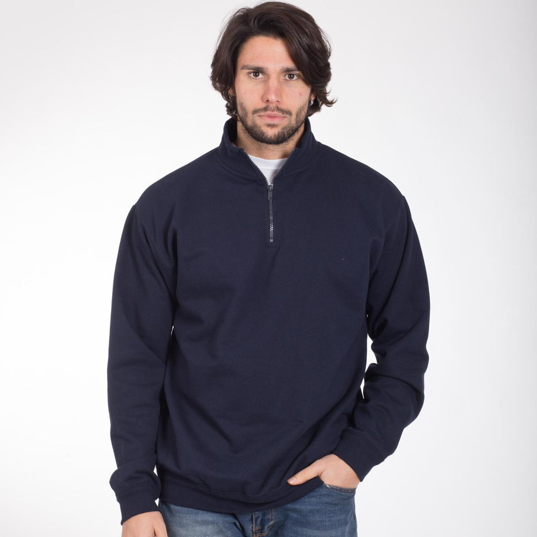 Felpa BSZN280 Zip Neck Sweat