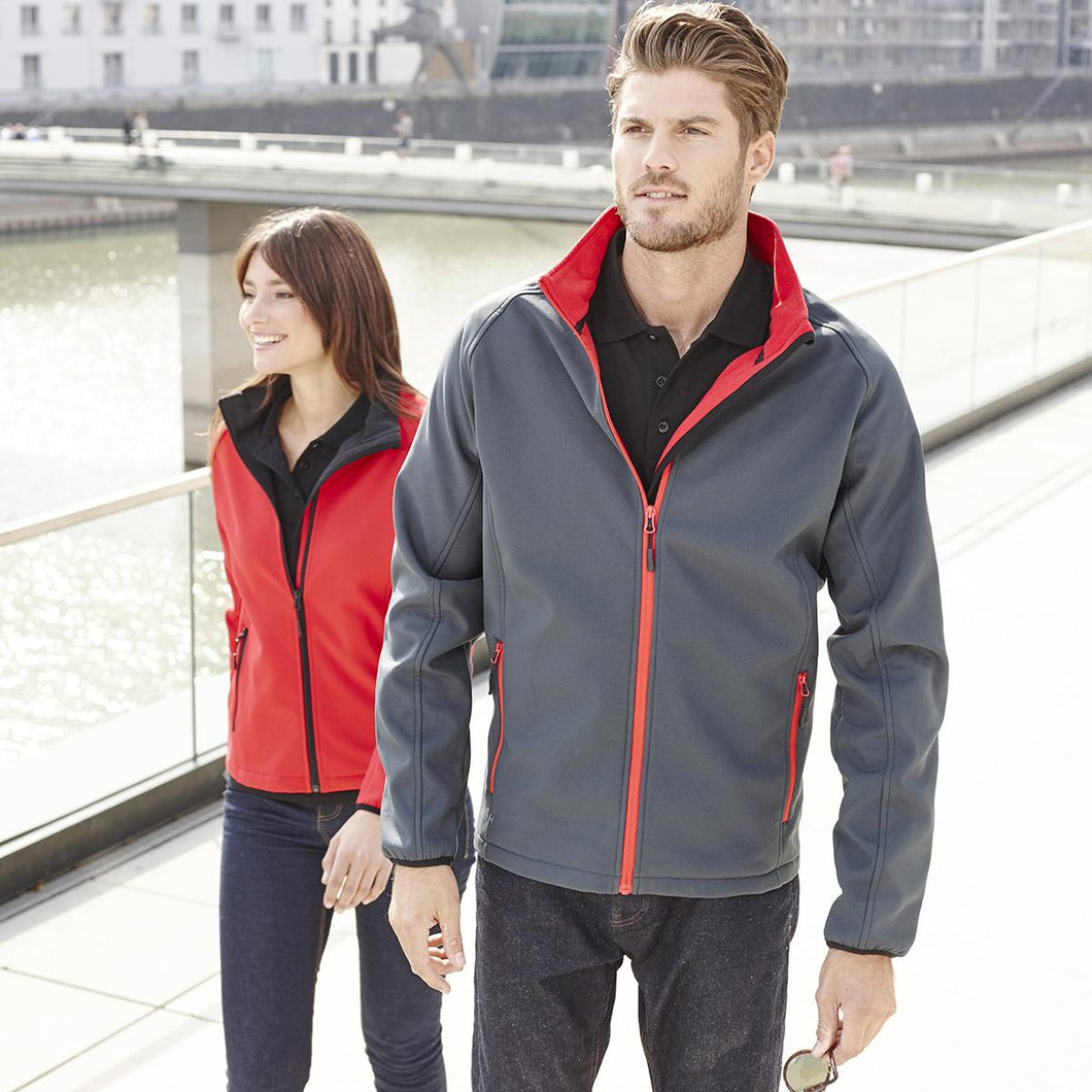 Giacca in softshell a due strati JAMES&NICHOLSON