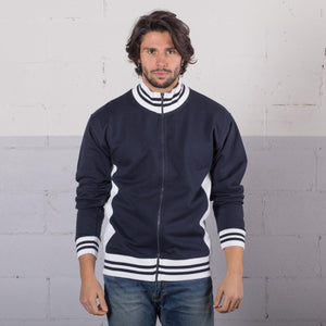 Felpa MI807 Sweat Full Zip Bicolor