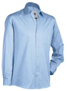 Camicia classica in chambray look JAMES&NICHOLSON