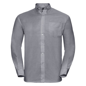 Camicia con collo botton down RUSSELL