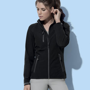 Giacca in softshell con membrana STEDMAN