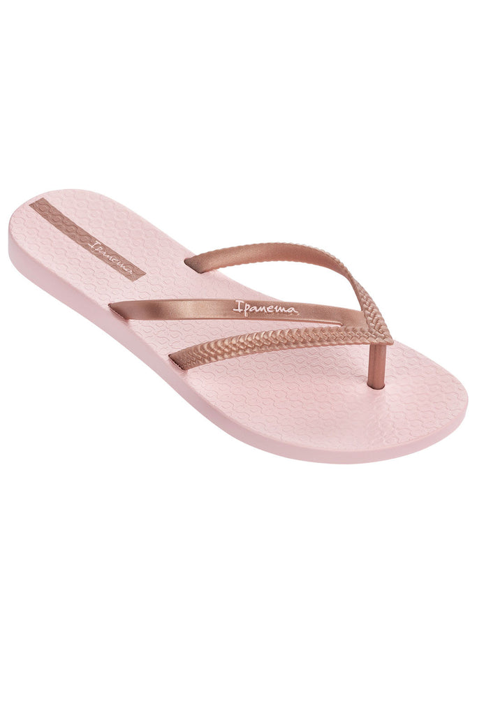 IPANEMA BOSSA ROSE GOLD FLIPFLOPS