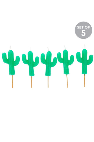 SUNNYLIFE MEXICAN CACTUS CAKE BIRTHDAY CANDLES