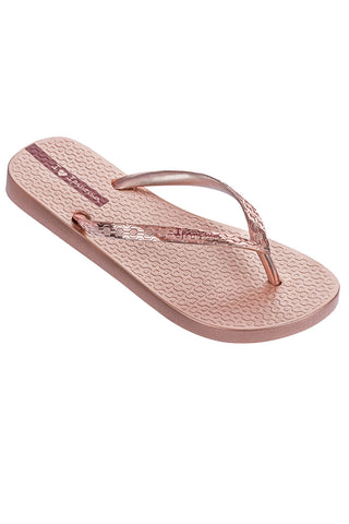 IPANEMA GLAM ROSE GOLD FLIPFLOPS FROM BRAZIL