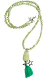 Pranella Karla Pearl Mint necklace
