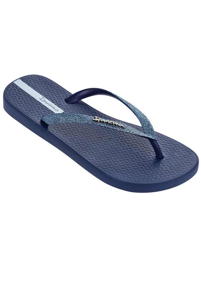 IPANEMA SPARKLE FLIPFLOPS - NAVY