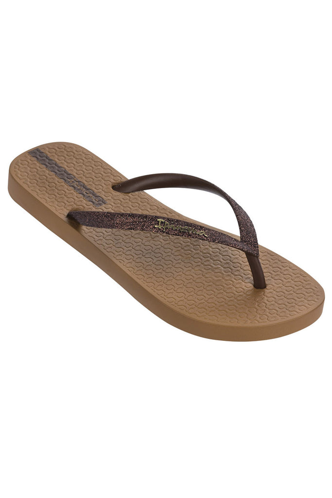 IPANEMA SPARKLE FLIPFLOPS - BRONZE