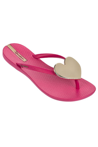 IPANEMA WAVE HEART- PINK GOLD