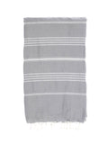 TURKISH HAMMAN TOWEL / GREY