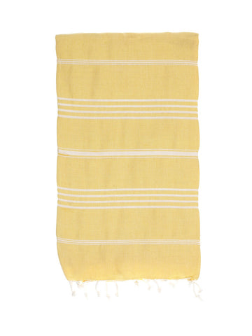 TURKISH HAMMAN TOWEL / CITRUS