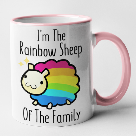 I'm The Rainbow Sheep Of The Family