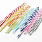 Pride Paper Party Straws