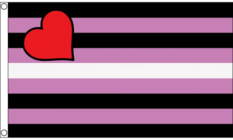 Leather Girl Pride Flag