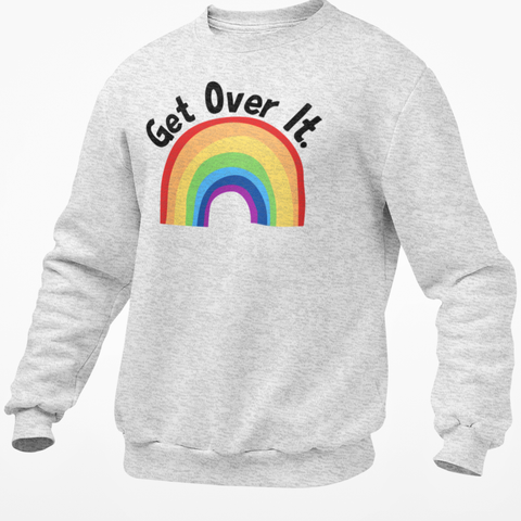 Get Over It -Rainbow Jumper