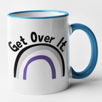 Get Over It - Asexual Mug