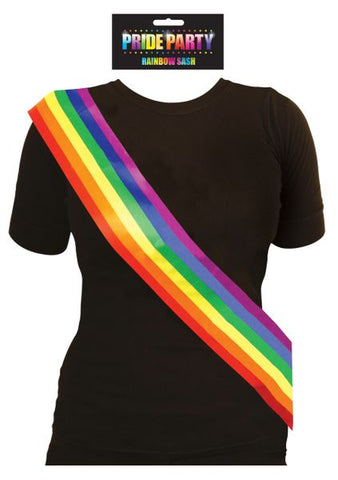 Rainbow Party Sash