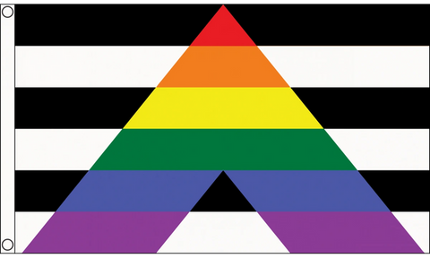 Straight Ally Pride Flag