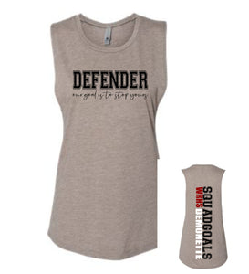 soccer defender tank top,