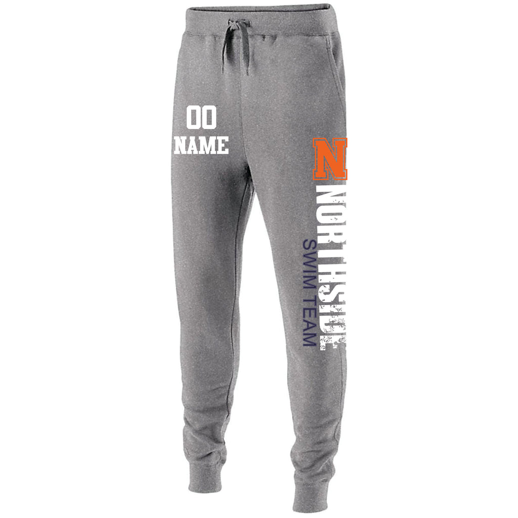 jogger sweatpants, northside swim team