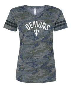 ladies camo team shirt, camo team shirt