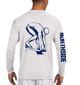 swim team diver graphic t shirt
