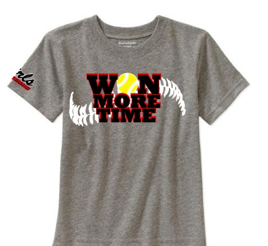 ga girls softball shirt, Won more time