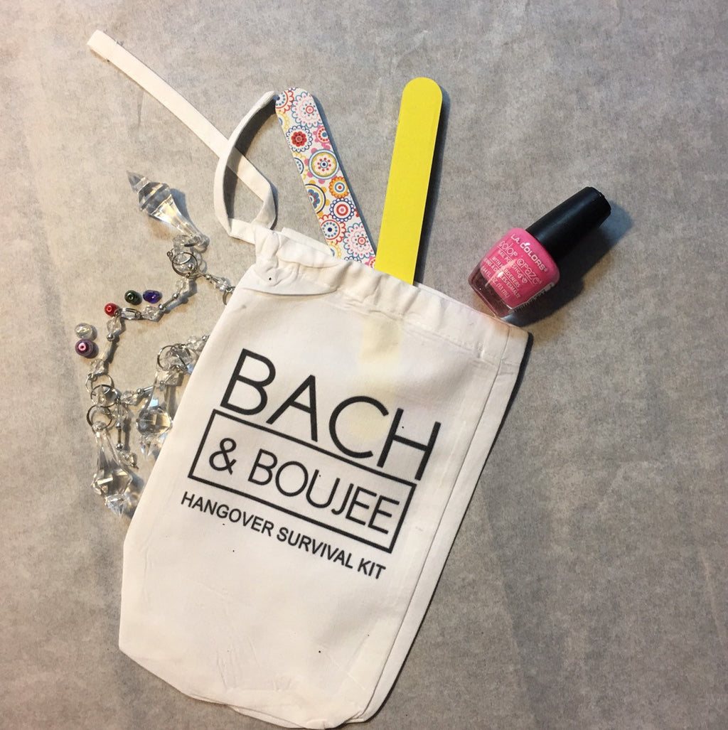 Party favor bags, customized party bags,Bach and Boujee party bags
