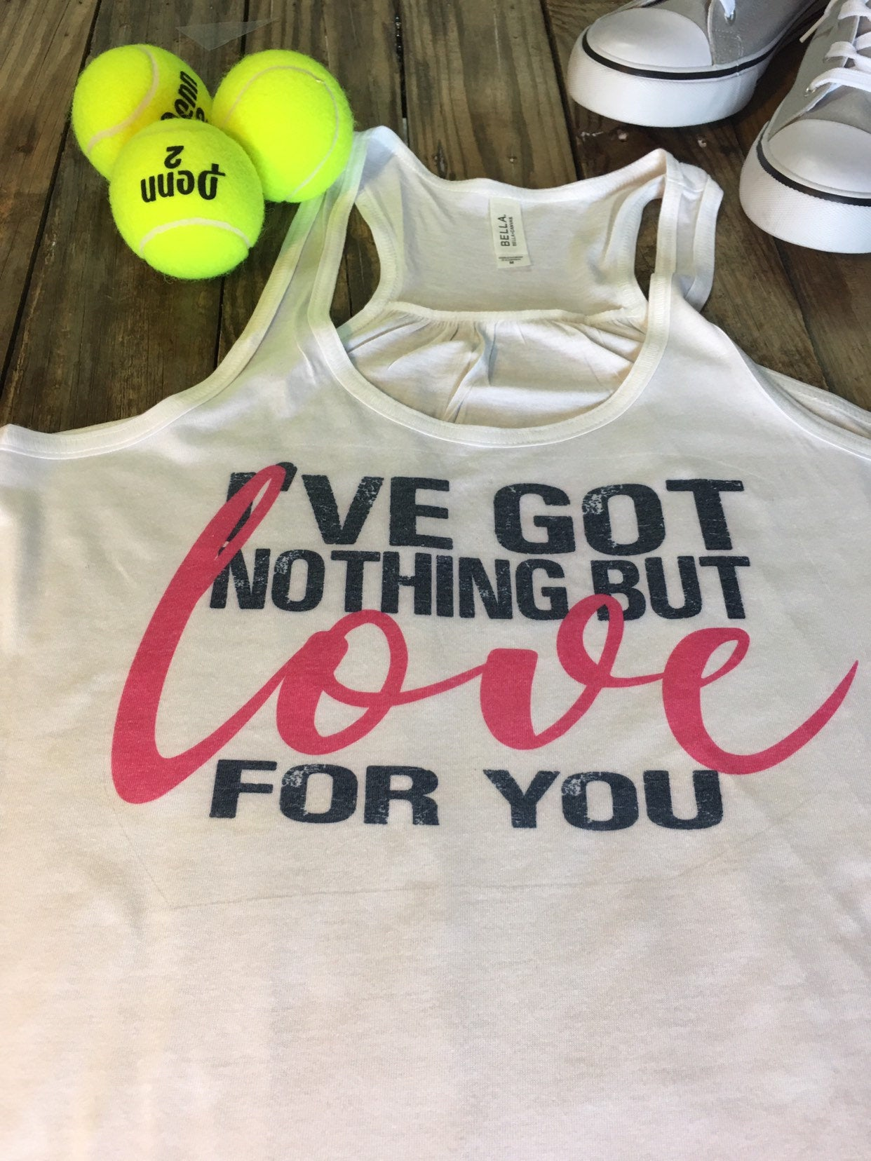 tennis tank top, tennis graphic tank