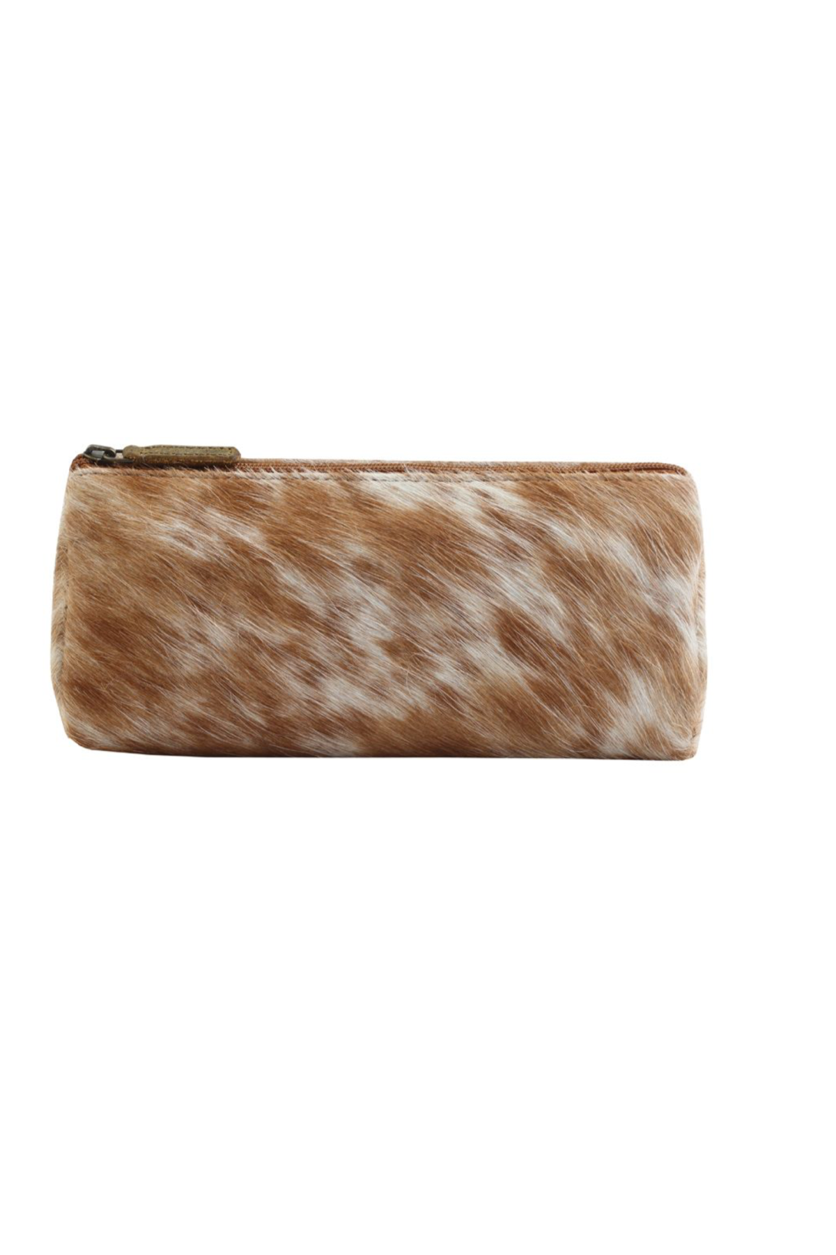 Hairon leather pouch, leather toiletry bag