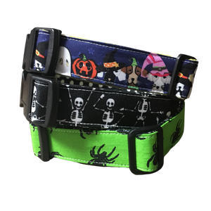 Halloween dog collar
