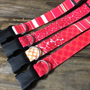 Citrus patterned dog collar