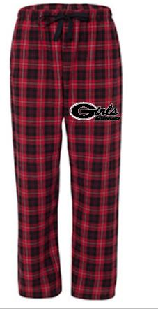 Plaid flannel pants team apparel