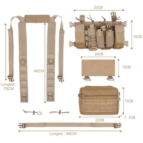 hunting chest rig