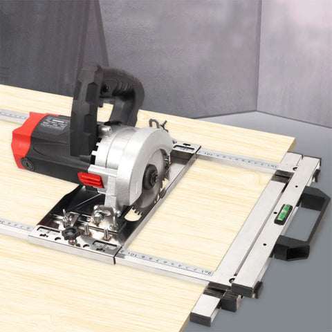 Circular Table Saw Guide Rail Track