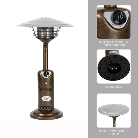 Portable Outdoor Tabletop Patio Propane Heater