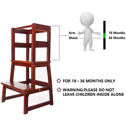 stools for toddlers in the kitchen