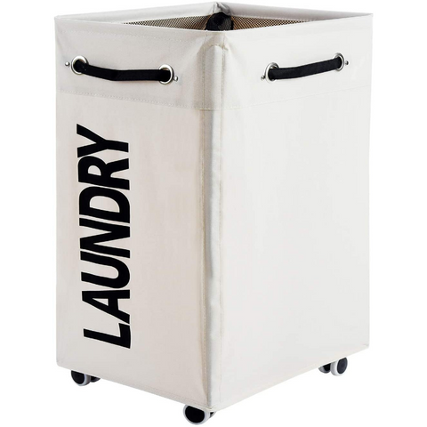 laundry hamper on wheels