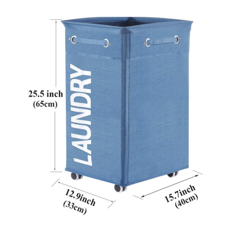 roller laundry hamper