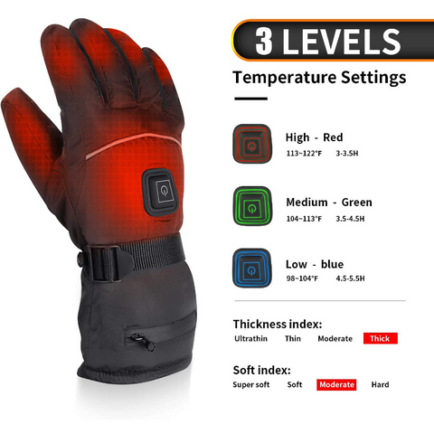 heated motorcycle gloves