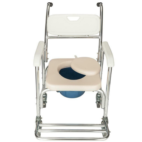 best bedside commode with wheels