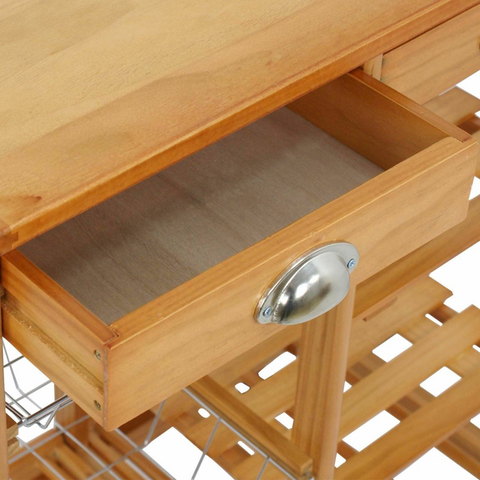 kitchen storage cart