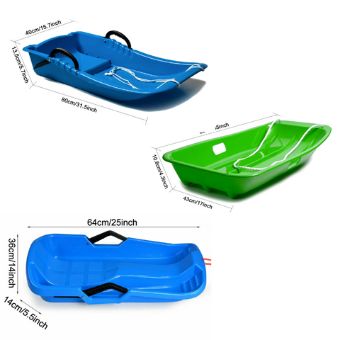 snow sled for adults