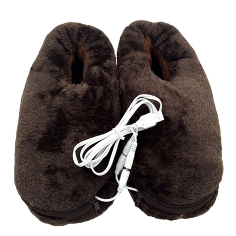 mens' heated slippers