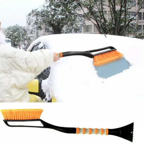 best car snow brush