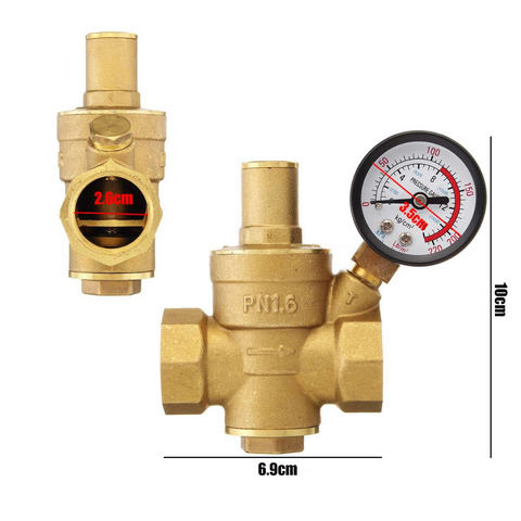 irrigation pressure regulator