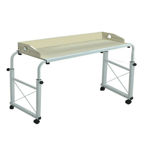 overbed table with wheels